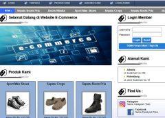 Source Code Online Shop Sepatu PHP – Script