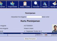 Sistem Informasi Perpustakaan PHP